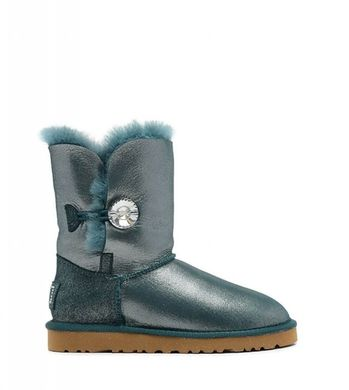 Женские UGG BAILEY BUTTON II BOOT LEATHER I DO fr1521, 36